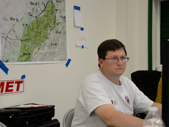Phil Manuel, a National Weather Service incident meteorologist,