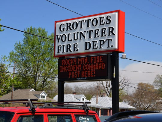 Grottoes Volunteer Fire Department has been serving