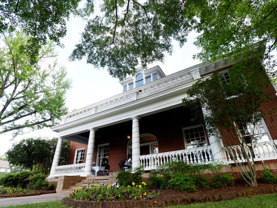 This grand 1910 house in Minden is Grace Estate, a