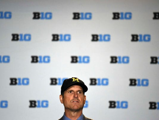 NCAA Football: Big Ten Media Day