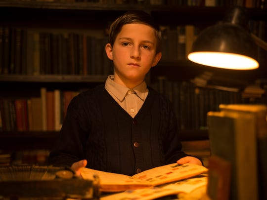 "Amir Tessler stars as writer Amos Oz in ""A Tale of"