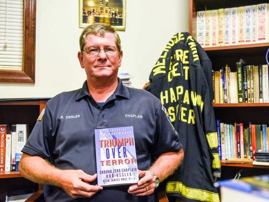 Millville Fire Chaplain Bob Ossler poses for a photo