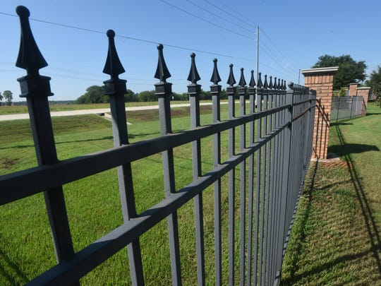 Iron security fencing is an option for homes that are
