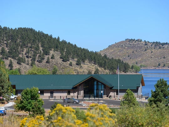 The new visitors center at Horsetooth Reservoir opened