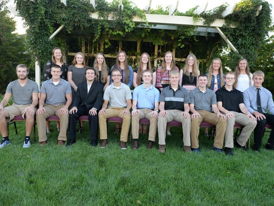 Manitowoc Lutheran juniors who earned academic honors