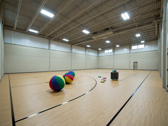 A new gymnasium is part of an expanded Highland Community Church in Wausau.