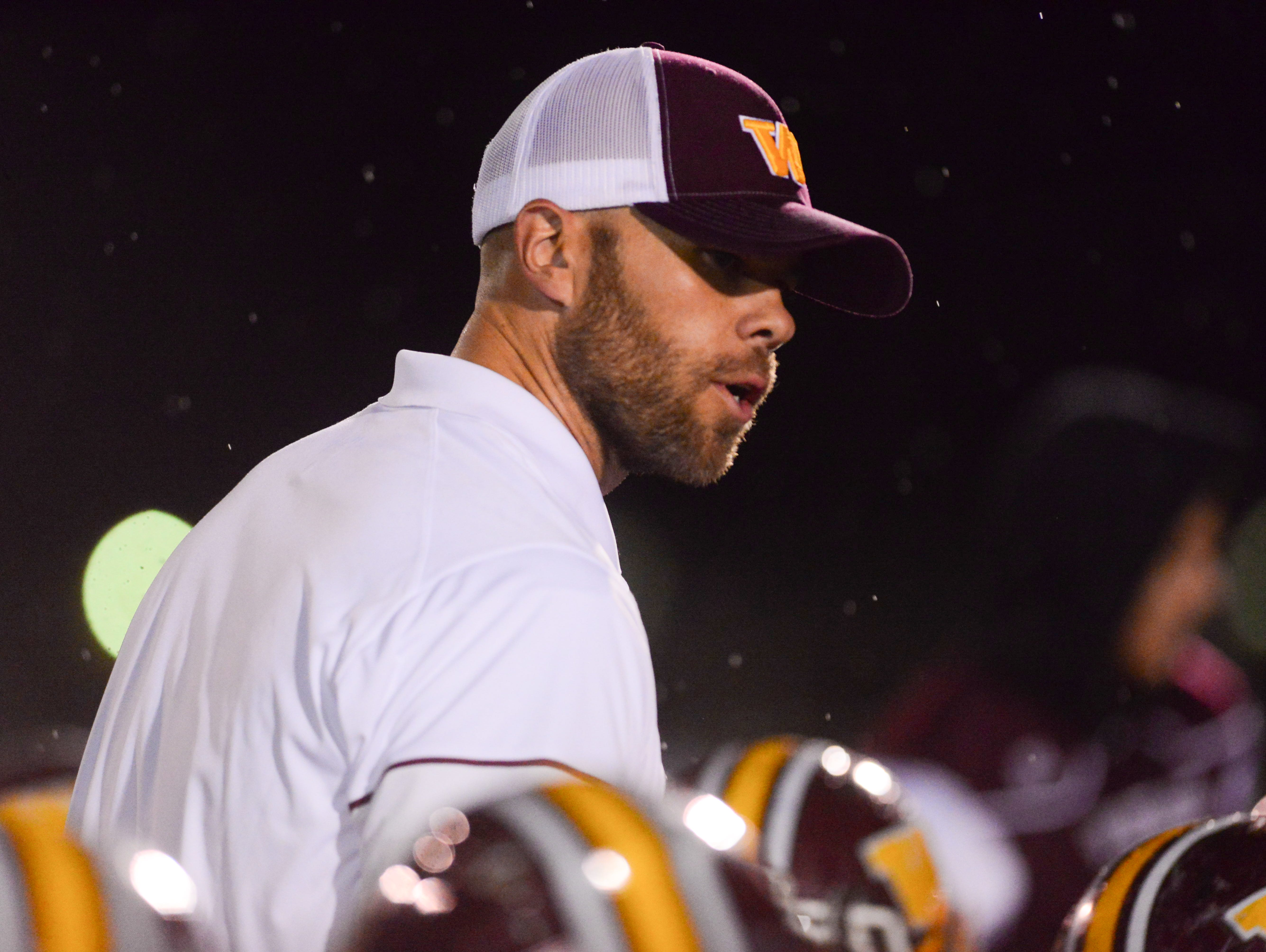 Windsor football coach Skylar Brower is pleased by the way his team has worn opponents down.