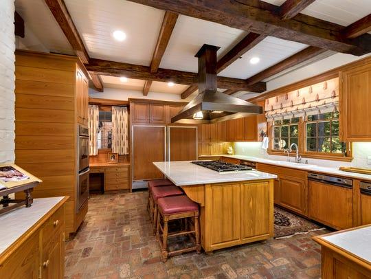 The kitchen at 636 Lake Forbing Drive.