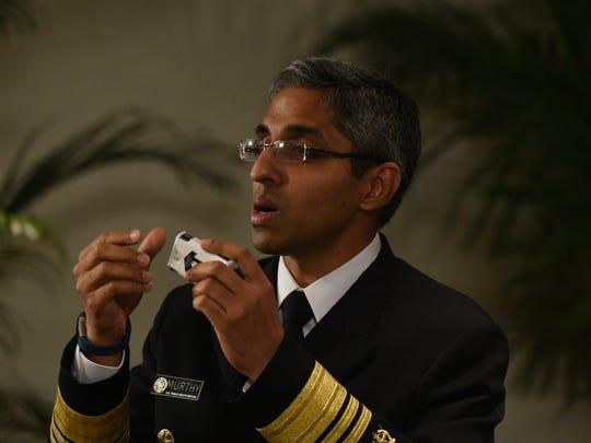 U.S. Surgeon General, Dr. Vivek Murthy has taken up