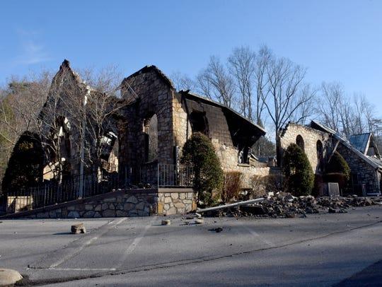 Roaring Fork Baptist Church in Gatlinburg on Friday,