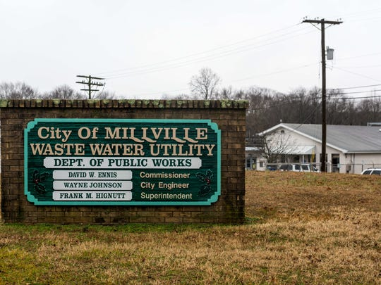 The City of Millville's Waste Water Utility plant located at 355 Fowser Rd.