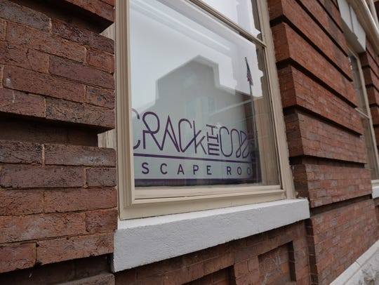 Crack the Code Escape Room attraction in downtown Staunton