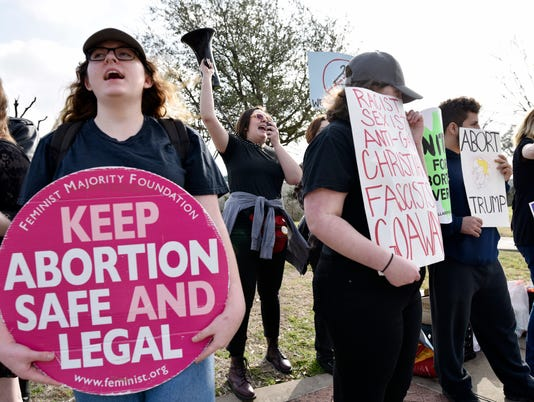 AP PLANNED PARENTHOOD PROTESTS A USA TX