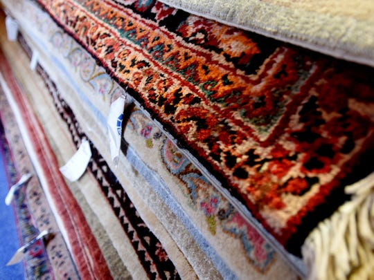 A selection of rugs from Ark-La-Tex Oriental Rugs.