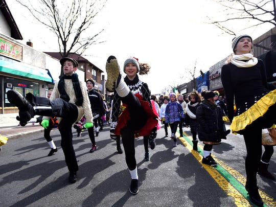 Dancers from the Early-McLoughlin School of Irish Dance