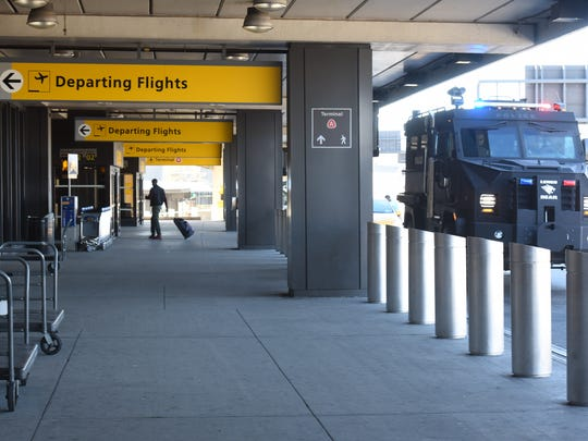 Property service workers at Newark Liberty Airport could see a graduated boost in pay if a proposal to raise the minimum wage passes.