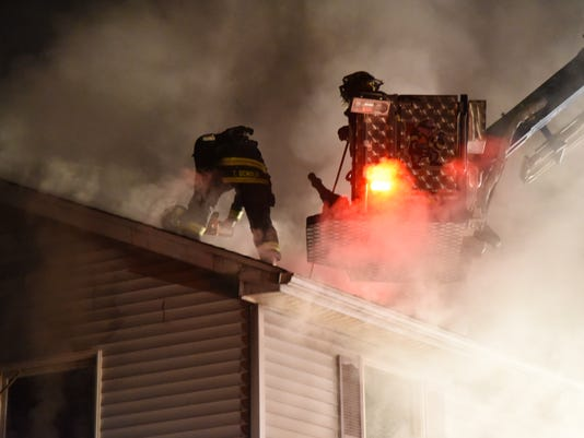 Long Valley house fire