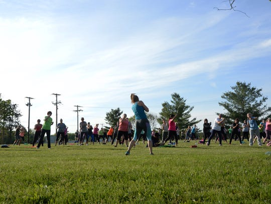Hundreds of participants have taken a No Sweat in the