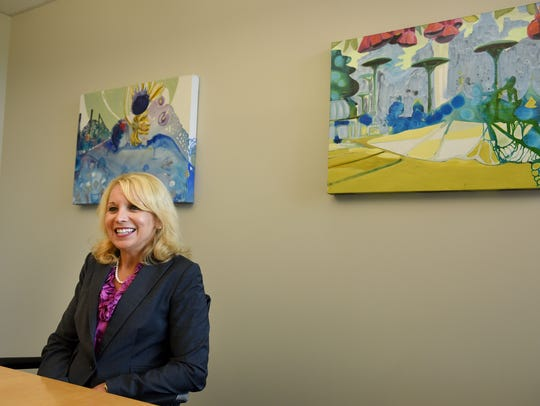 Kim Ciukowski at Pinnacle Financial Partners Wednesday,