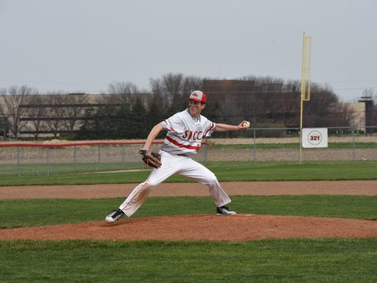 SJCC's Logan Black led the team with 41 1/3 innings pitched as a junior.