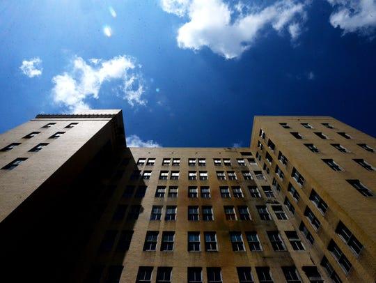 The Johnson Building in downtown Shreveport.