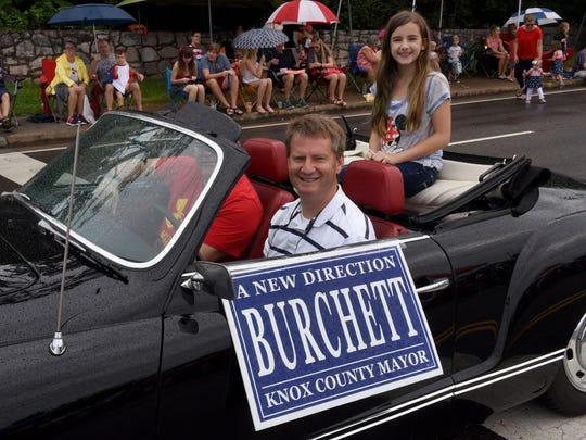 Knox County Mayor Tim Burchett during the 30th annual