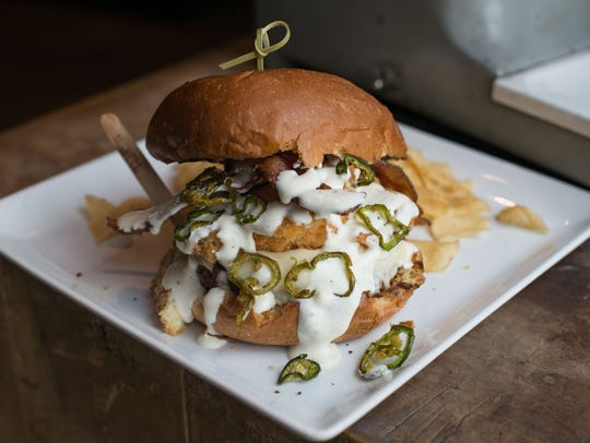 The Fried Chicken Burger, offered Aug. 22.