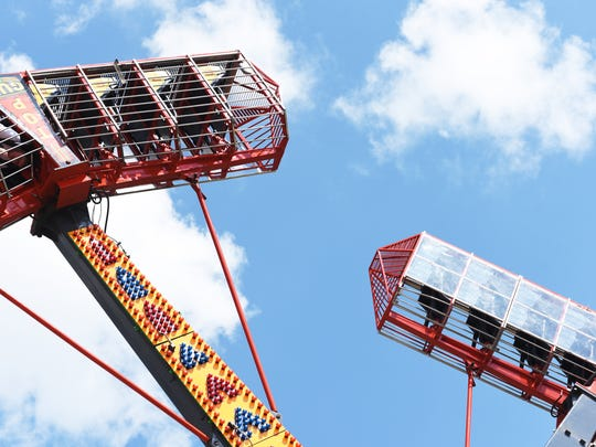 The fatal accident at the Ohio State Fair has not deterred riders at the Muskingum County Fair.