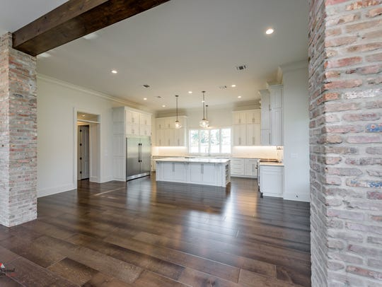 This home at 1104 Forest Trail Drive features many