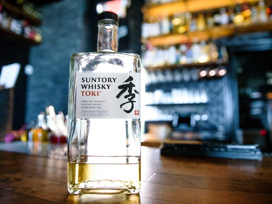 Suntory Whisky Toki,  an introductory-level Japanese whisky good for someone learning the ways of darker spirits. It's not even that dark, really, more of a golden rod.