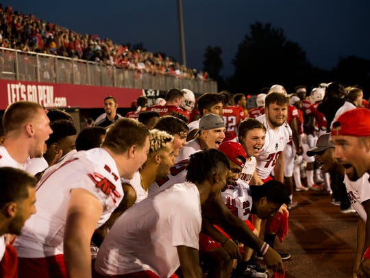 Coaches get Austin Peay players on the sidelines excited