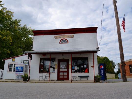 Middlebrook General Store in Middlebrook, Virginia.
