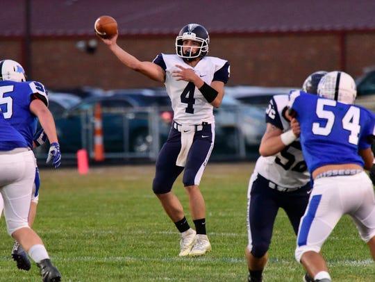 Lakota's Tyler Gabel has nine touchdown passes.