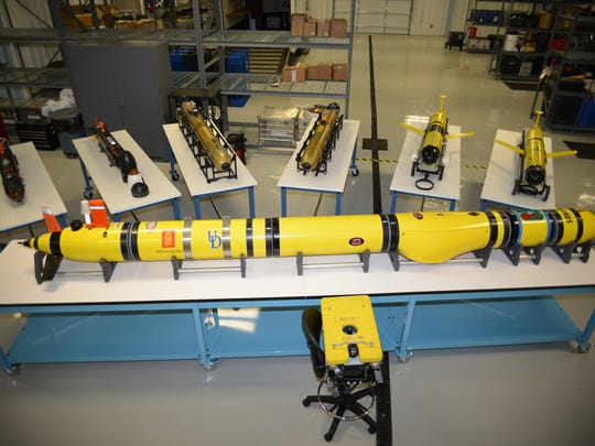 Autonomous underwater vehicles (AUVs), a robotic technology, will be on display during Coast Day.