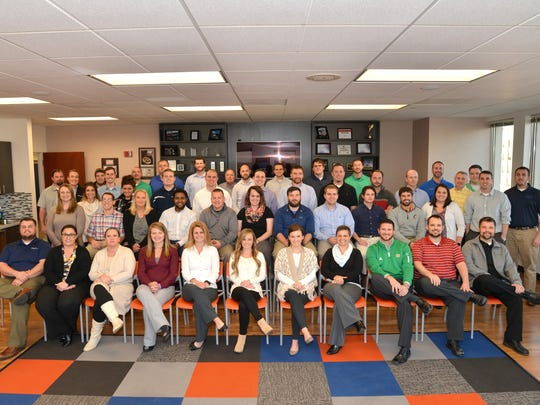 The employees of ODW Logistics in Hamilton, OH.