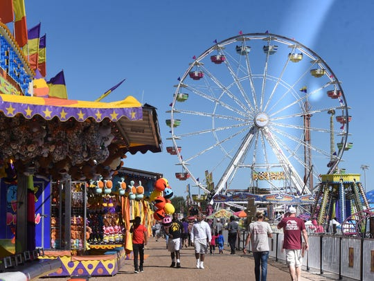 The State Fair of Louisiana is Oct. 25-Nov. 11.
