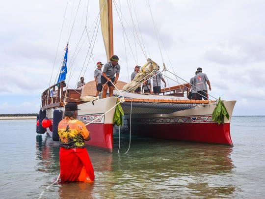 """Traditional ocean navigator Ignacio """"Nash"""" Camacho"""