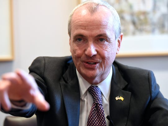 Governor-elect Phil Murphy speaks to Northjersey.com's