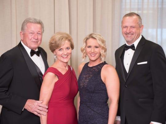 (left to right) Brinton Child Advocacy Award Recipients