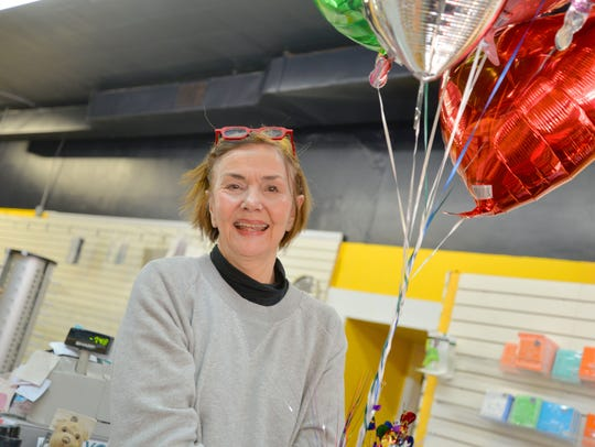 The Emporium owner Linda Hanna was surprised by members