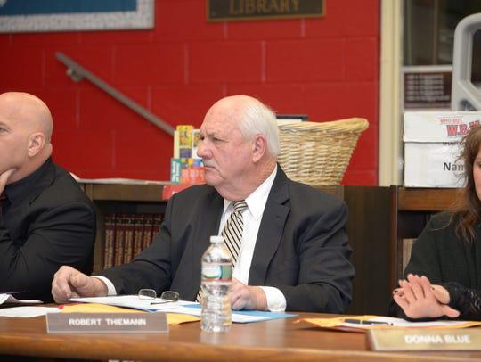 Ridgefield Park Board of Education President Robert Thiemann