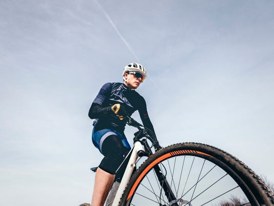 Portrait of Mountain Biker