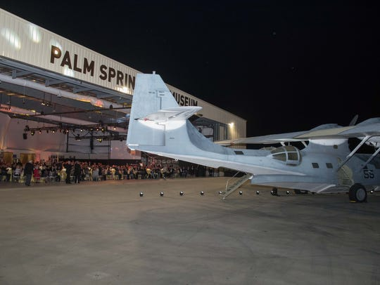 Moneys raised at the Palm Springs Air Museum Gala will