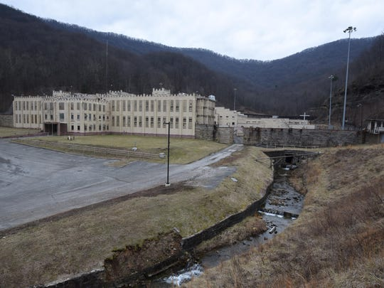 Inside the closed Brushy Mountain State Penitentiary