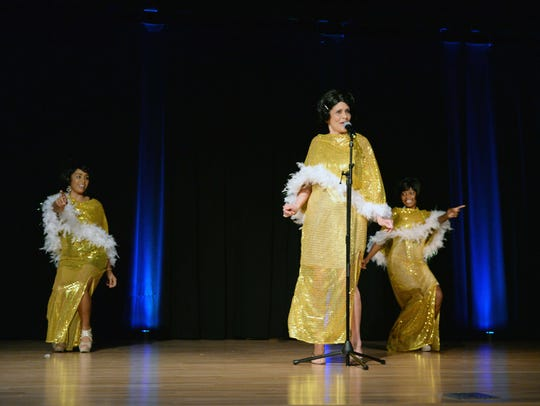 Madeline Rodriguez, left, Diann McDonough and Kawanda