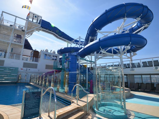 Among the biggest attractions atop Norwegian Bliss