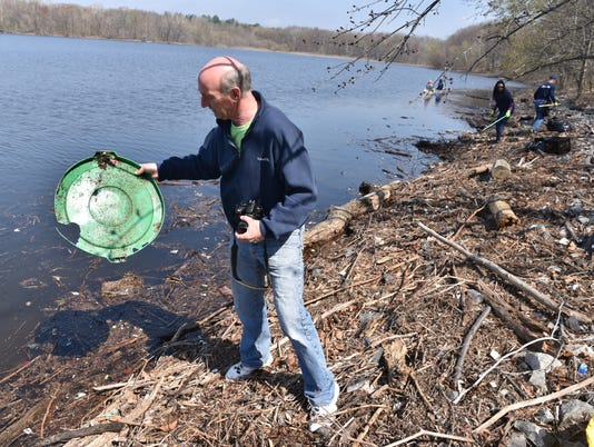 Woodcliff Lake Reservoir Clean up
