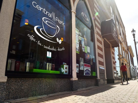 The owners of Central Perk Coffee Shop are under pressure to change its name due to a trademark held by the Warner Bros. Entertainment Inc.. The shops is shown on April 25, 2018, in St. Cloud.