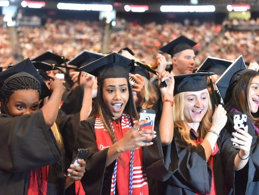 The Montclair State University Undergraduate Commencement Ceremony