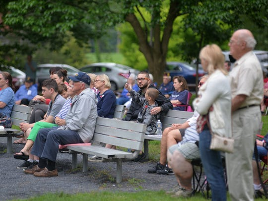 Memorial Day Service at Gypsy Hill Park on Monday,